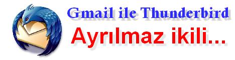 Gmail ile Thunderbird